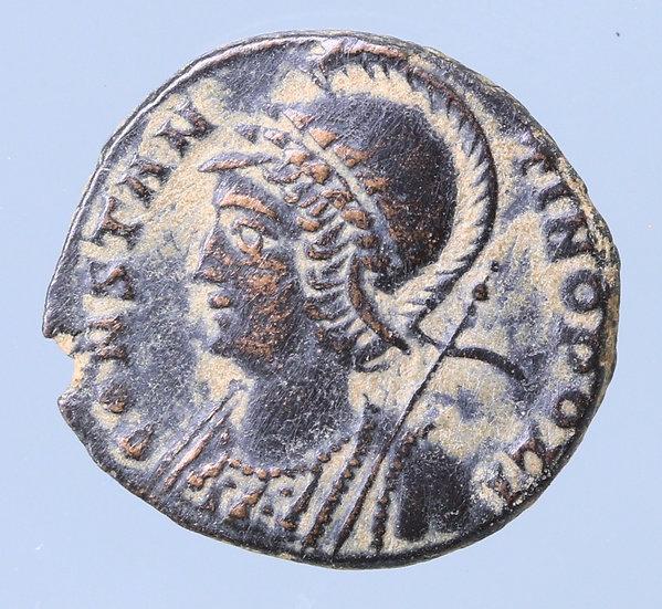 Moeda Romana Comemorativa de Constantinoplac. 330-354