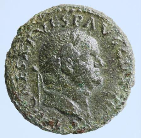 Moeda romana Vespasian. A.D. 69-79. AE as