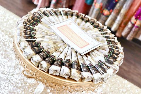 25  Henna Cones (BULK PRICE)