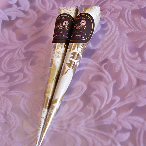 2 Henna Cones (Lavender)