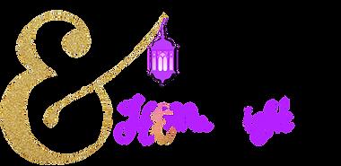Sister's Henna Night logo long landscape