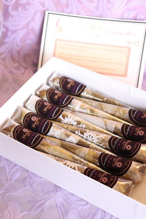 10 Henna Cones (Lavender)