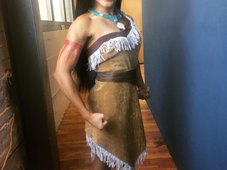 Living out my Pocahontas dreams!