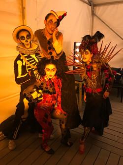Halloween Contortion Gig!