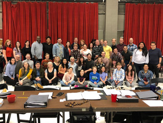 Music Man Rehearsals are Officially Underway!