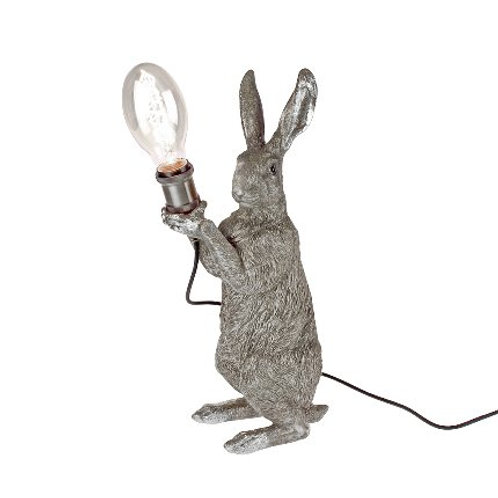 Tischleuchte Meister Lampe, silver