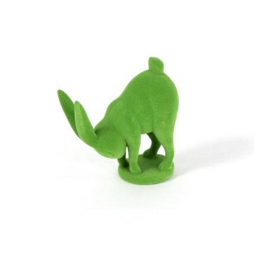 Yoga-Hase, grün