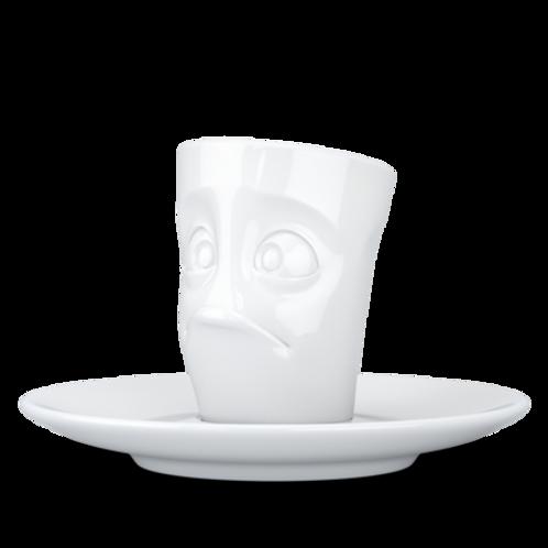 """Espresso-Mug mit Henkel ,,Verdutzt"""" 80 ml"""