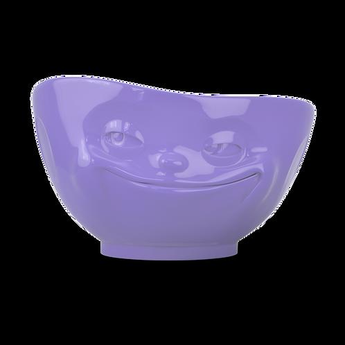 """Schale """"Grinsend"""" in lila, 500ml"""