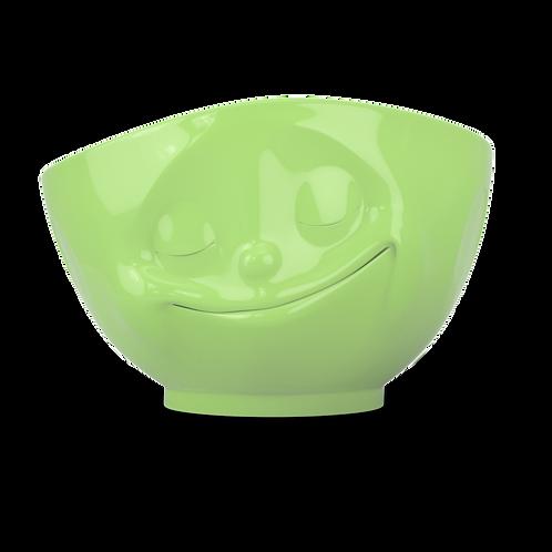 """Schale """"Glücklich"""" in hellgrün, 500ml"""