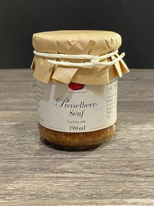 Gourmet Berner Preiselbeer-Senf