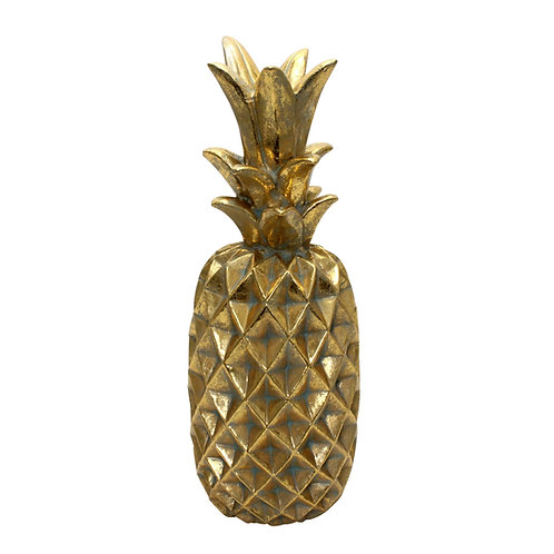 Ananas vintage gold