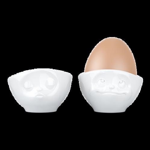 """Eierbecher-Set ,,Küssend und Verträumt"""""""