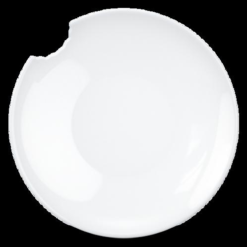Tiefe Teller mit Biss weiß 2er Set