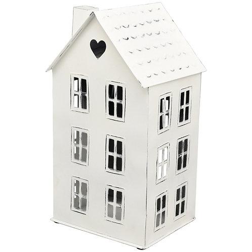 Vergrößerte Ansicht  HausWindlicht ClairBlanc, weiß, Metall, 20x17x36 cm
