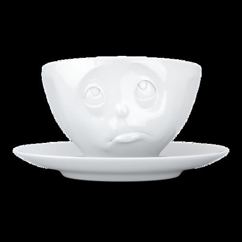 """Kaffeetasse weiß ,,Och Bitte"""" 200ml"""