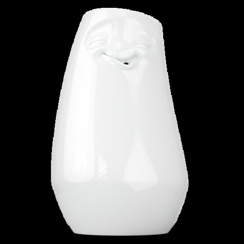 """Vase """"Entspannt"""" weiß"""