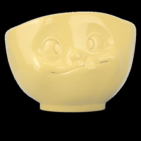 """Schale """"Lecker"""" in gelb, 500ml"""