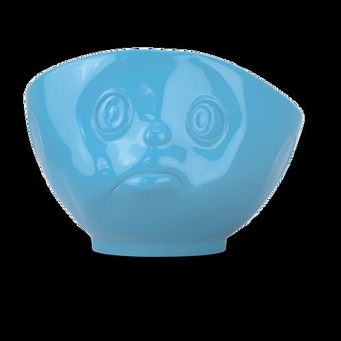 "Schale ""Schmollend"" in blau, 500ml"