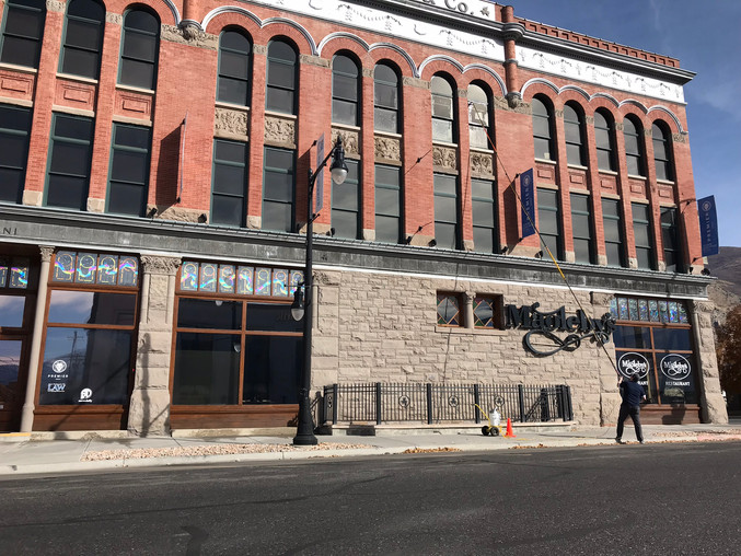 Commercial window cleaning, Springville Ut