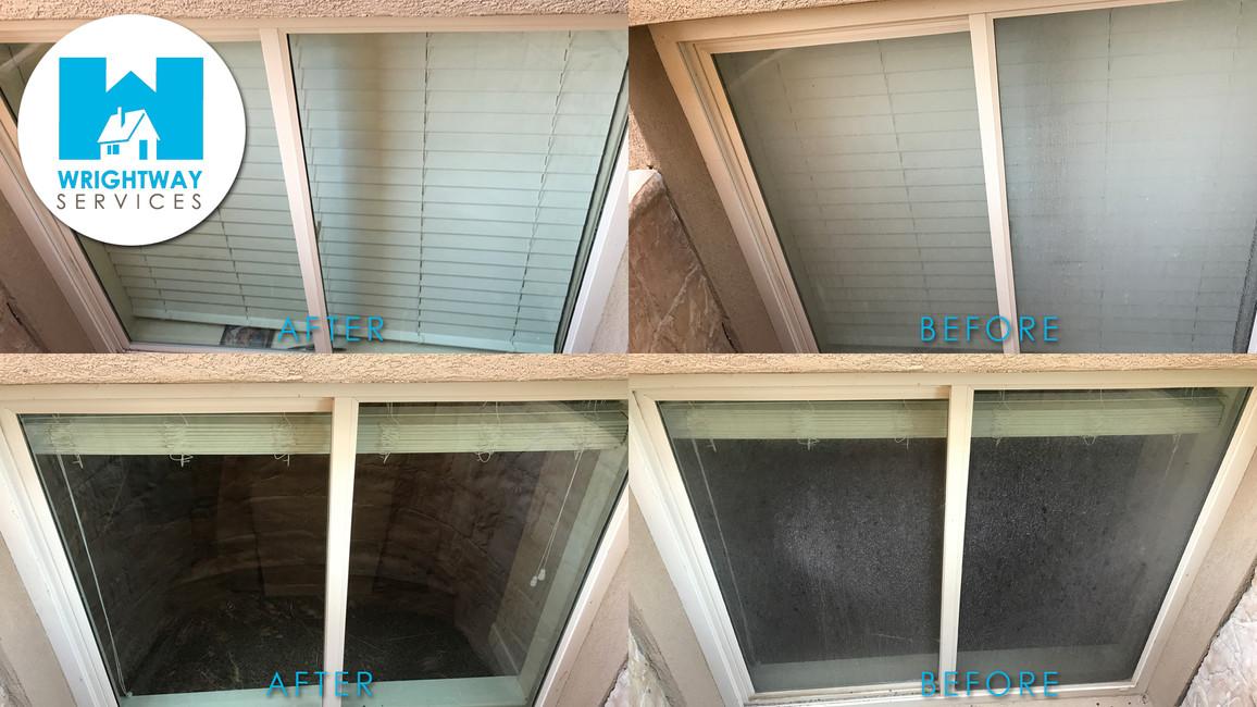 Customer with dirty window wells