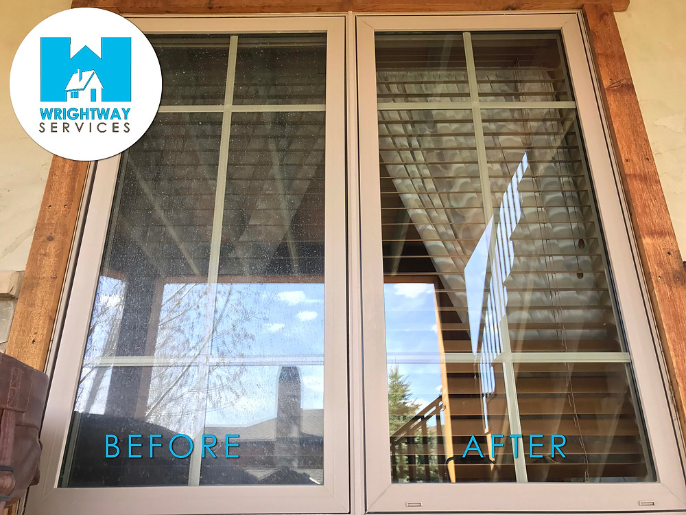 window cleaning before and after hobble creek springville