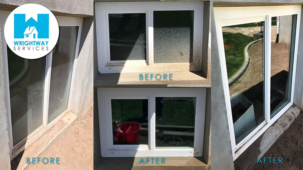 before and after clean windows utah county
