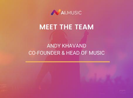 Meet the team   Andrew Khavand