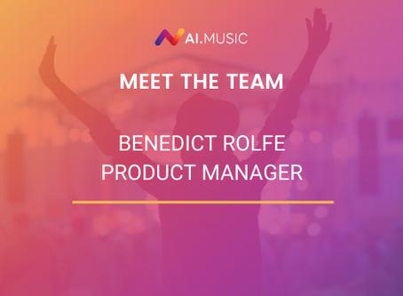 Meet the team | Benedict Rolfe