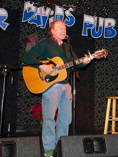 Songwriter Randy Brooks at Poor David's Pub, Dallas