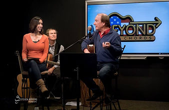 "Singer/songwriter Randy Brooks was the first guest on Internet series ""Beyond the Chords"""