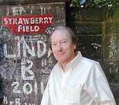 Singer/songwriter Randy Brooks at Strawberry Field, Liverpool
