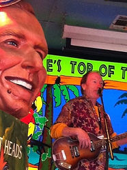Singer/songwriter Randy Brooks, perfoming at Tropical Isle, New Orleans