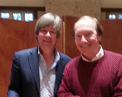 Humorist Dave Barry and songwriter Randy Brooks
