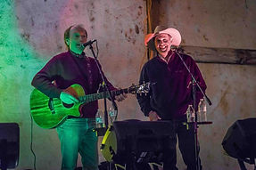 Singer songwriters Randy Brooks and Michael Hearne