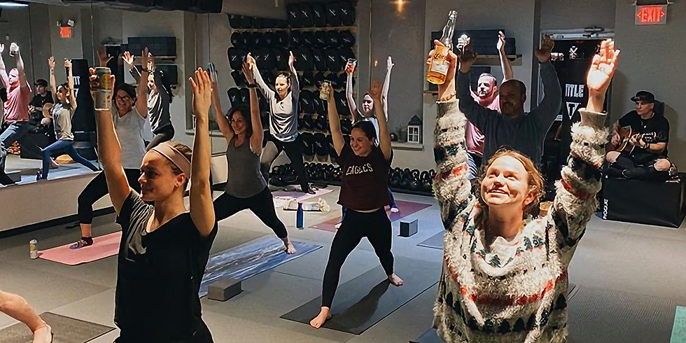 BYO Beer Yoga