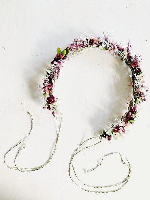 Flowercrown NATI Blumenkranz Haarschmuck berry