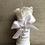Thumbnail: Flowerbox Mini Infinity Rose weiss