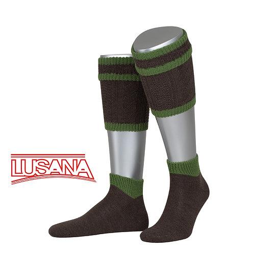 Loferl Set braun-grün