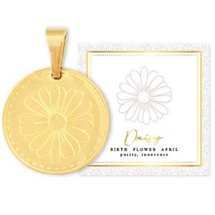 Birthflower Kette APRIL gold