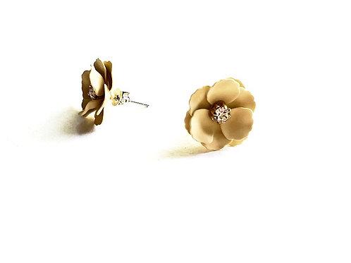 Blumenohrstecker *Seeroserl*, gelb