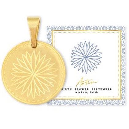 Birthflower Kette SEPTEMBER gold