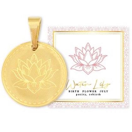 Birthflower Kette JULI gold