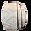 Thumbnail: Ledergürtel silber-weiß