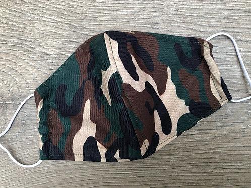 Gesichtsmaske Camouflage