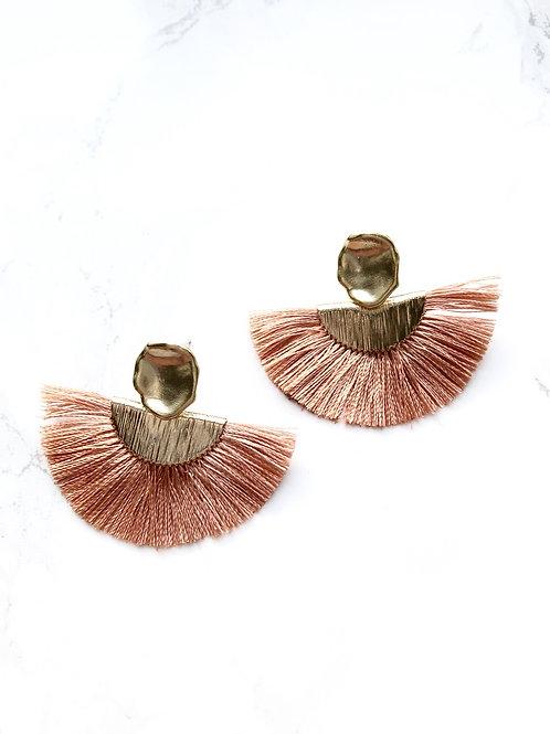 Ohrringe QUASTI blush 2 Varianten