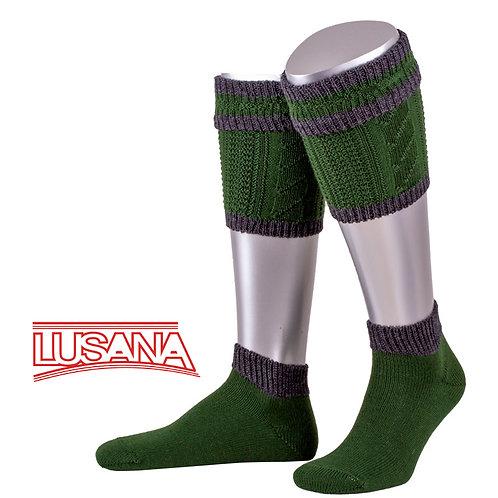 Loferl Set grün-grau