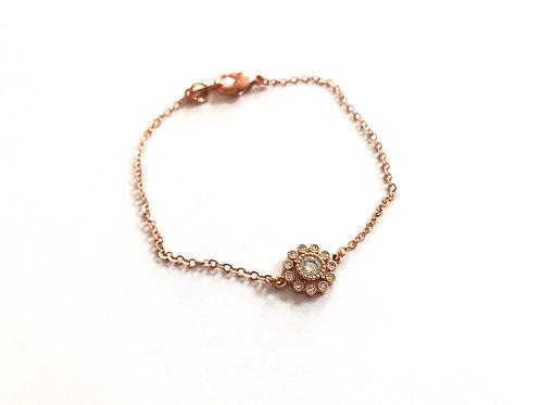 Armband  Mitzi  rosevergoldet