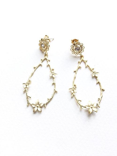 Ohrringe *Blütenranke*