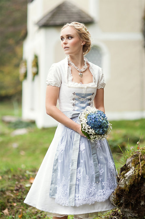 Brautdirndl *Lina* aus Leinen